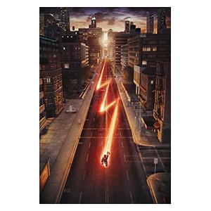 Flash. Размер: 50 х 75 см